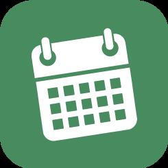 botón calendario aveporcyl