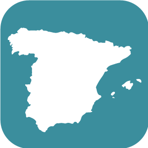 botón España