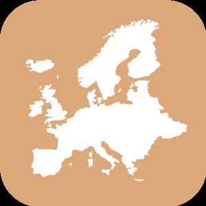 botón Europa